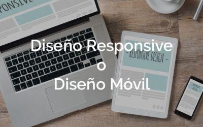 ¿Versión móvil o diseño responsive?
