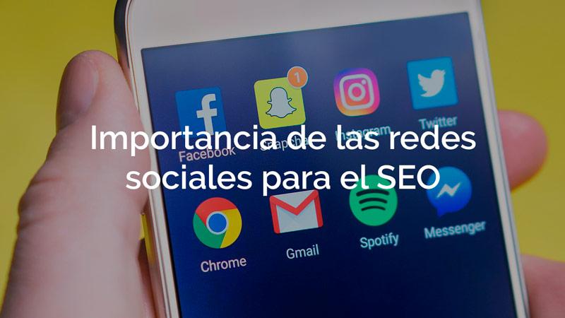 La importancia de las redes sociales en el posicionamiento SEO